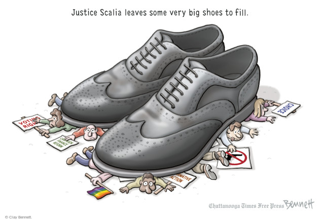 Clay Bennett  Clay Bennett's Editorial Cartoons 2016-02-16 voting rights