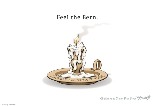 Clay Bennett  Clay Bennett's Editorial Cartoons 2016-03-02 Bernie Sanders