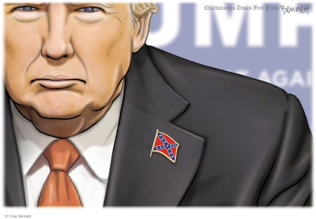 Clay Bennett  Clay Bennett's Editorial Cartoons 2016-03-03 racism