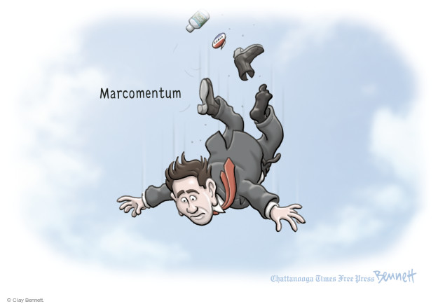 Clay Bennett  Clay Bennett's Editorial Cartoons 2016-03-09 2016 election Marco Rubio