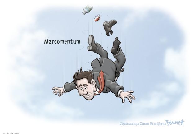 Clay Bennett  Clay Bennett's Editorial Cartoons 2016-03-09 2016 election Marco Rubio