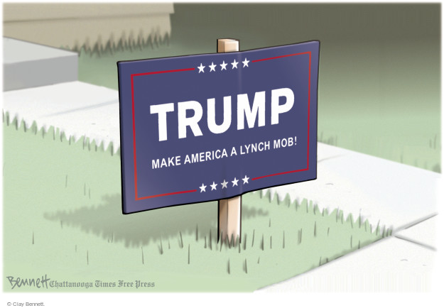 Clay Bennett  Clay Bennett's Editorial Cartoons 2016-03-15 racism
