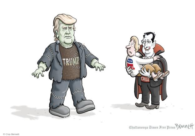 Clay Bennett  Clay Bennett's Editorial Cartoons 2016-03-24 Donald