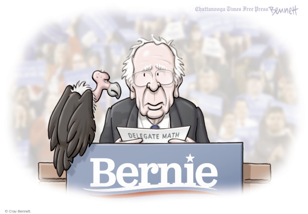 Clay Bennett  Clay Bennett's Editorial Cartoons 2016-03-29 2016 delegate math