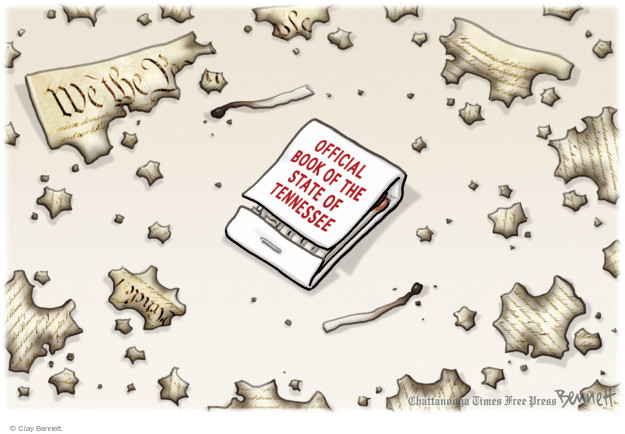 Cartoonist Clay Bennett  Clay Bennett's Editorial Cartoons 2016-03-31 separation