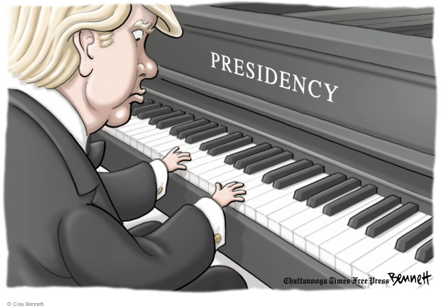 Clay Bennett  Clay Bennett's Editorial Cartoons 2016-04-01 playing