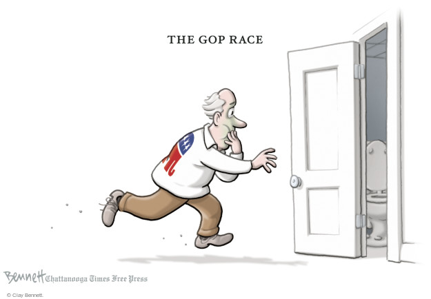 The GOP Race.