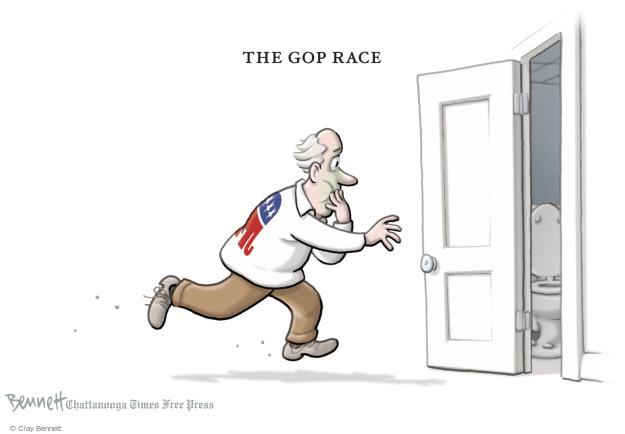 Cartoonist Clay Bennett  Clay Bennett's Editorial Cartoons 2016-04-05 Republican voter