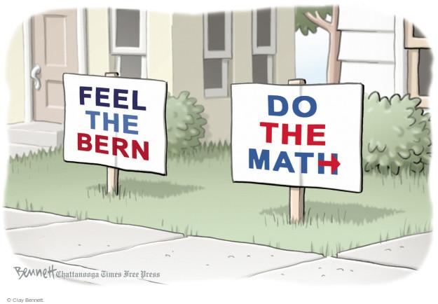 Clay Bennett  Clay Bennett's Editorial Cartoons 2016-04-06 presidential election