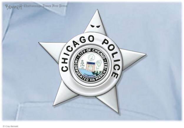 Clay Bennett  Clay Bennett's Editorial Cartoons 2016-04-17 police