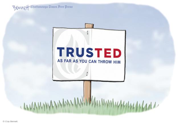 Clay Bennett  Clay Bennett's Editorial Cartoons 2016-05-02 2016 Election Ted Cruz