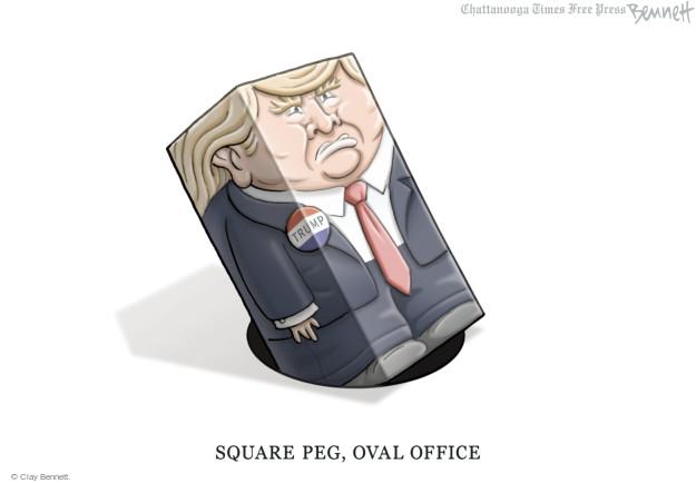 Cartoonist Clay Bennett  Clay Bennett's Editorial Cartoons 2016-05-11 oval