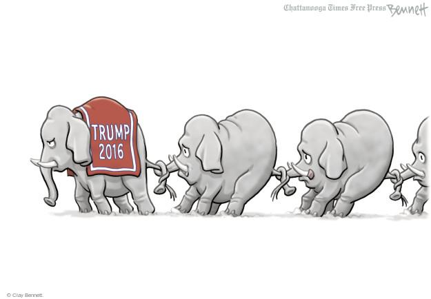 Clay Bennett  Clay Bennett's Editorial Cartoons 2016-05-13 Donald