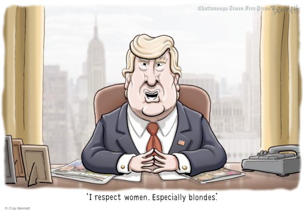 Clay Bennett  Clay Bennett's Editorial Cartoons 2016-05-19 Donald