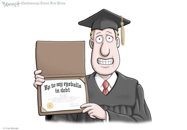 Cartoonist Clay Bennett  Clay Bennett's Editorial Cartoons 2016-05-20 finance
