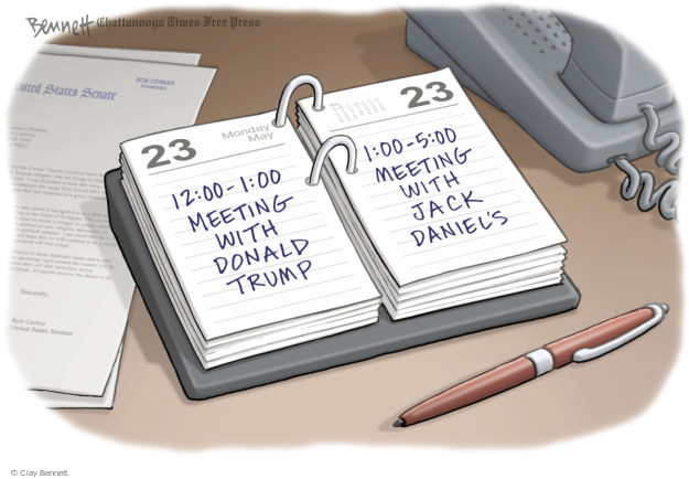 Cartoonist Clay Bennett  Clay Bennett's Editorial Cartoons 2016-05-24 state