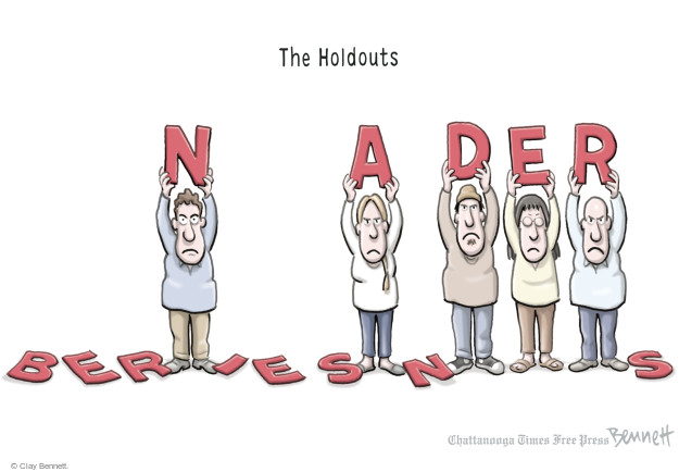 Cartoonist Clay Bennett  Clay Bennett's Editorial Cartoons 2016-05-27 primary election