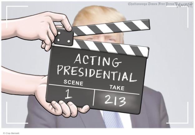 Clay Bennett  Clay Bennett's Editorial Cartoons 2016-06-01 presidential election