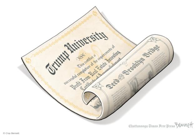 Cartoonist Clay Bennett  Clay Bennett's Editorial Cartoons 2016-06-02 school