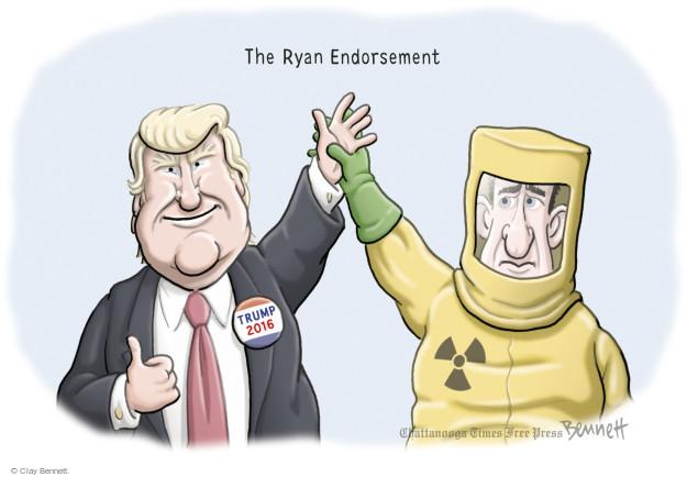 Clay Bennett  Clay Bennett's Editorial Cartoons 2016-06-06 presidential election
