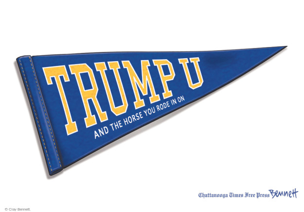 Clay Bennett  Clay Bennett's Editorial Cartoons 2016-06-13 Trump University