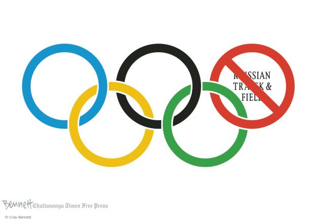 Clay Bennett  Clay Bennett's Editorial Cartoons 2016-06-18 Olympic