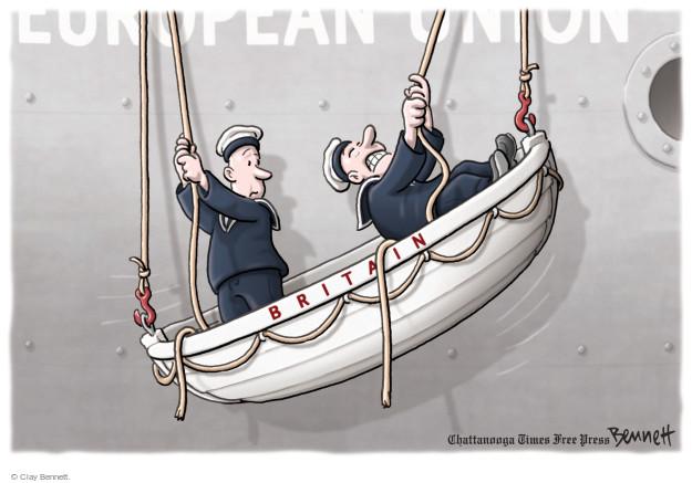Cartoonist Clay Bennett  Clay Bennett's Editorial Cartoons 2016-06-28 european