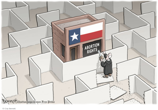 Cartoonist Clay Bennett  Clay Bennett's Editorial Cartoons 2016-07-01 Texas