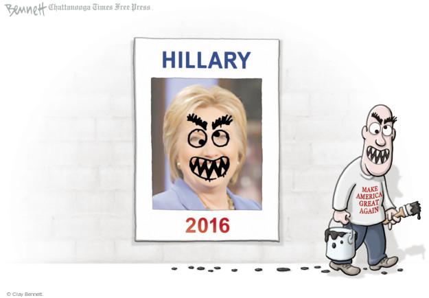 Clay Bennett  Clay Bennett's Editorial Cartoons 2016-07-29 supporter