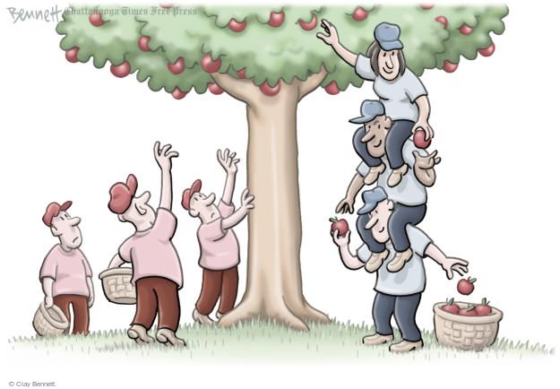 Cartoonist Clay Bennett  Clay Bennett's Editorial Cartoons 2016-08-01 apple