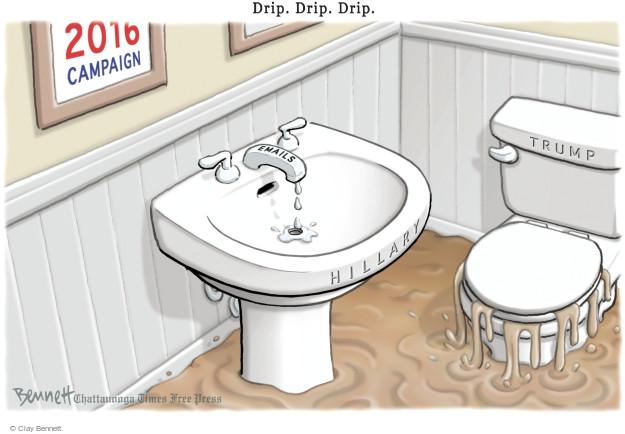 Cartoonist Clay Bennett  Clay Bennett's Editorial Cartoons 2016-08-11 state
