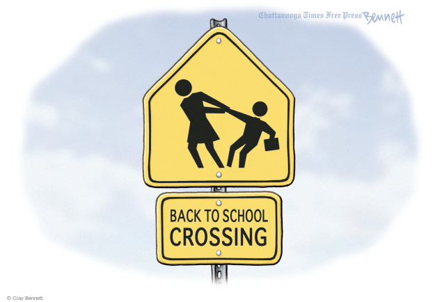 Clay Bennett  Clay Bennett's Editorial Cartoons 2016-08-12 street