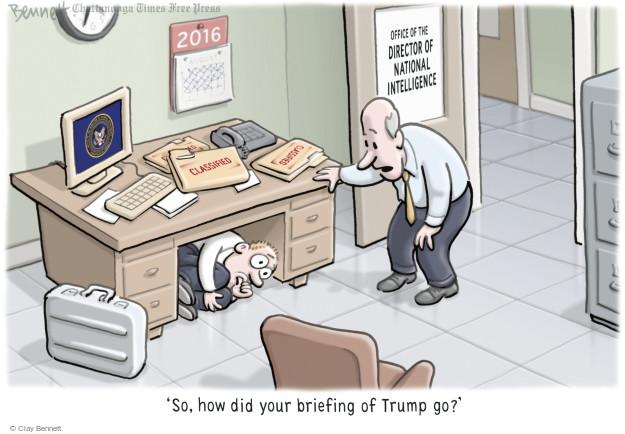 Clay Bennett  Clay Bennett's Editorial Cartoons 2016-08-18 Donald
