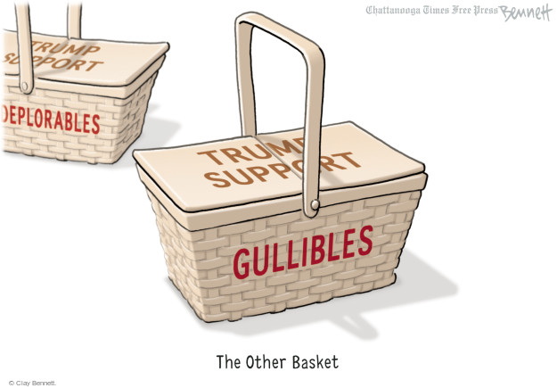 Clay Bennett  Clay Bennett's Editorial Cartoons 2016-09-14 racism