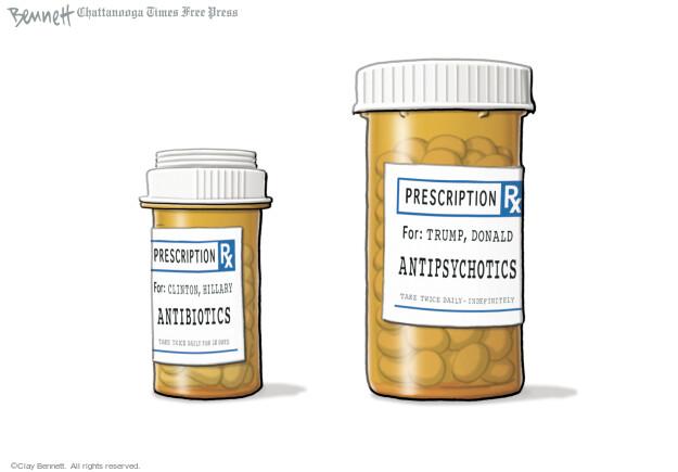 Clay Bennett  Clay Bennett's Editorial Cartoons 2016-09-16 pneumonia