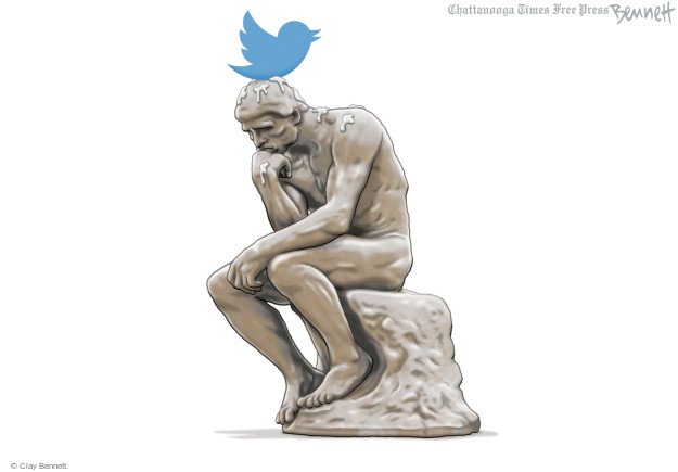 Cartoonist Clay Bennett  Clay Bennett's Editorial Cartoons 2016-10-03 head