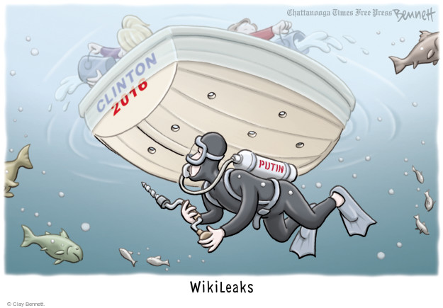 Clay Bennett  Clay Bennett's Editorial Cartoons 2016-10-13 presidential election