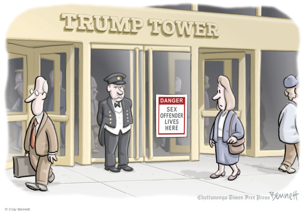 Clay Bennett  Clay Bennett's Editorial Cartoons 2016-10-14 voting rights