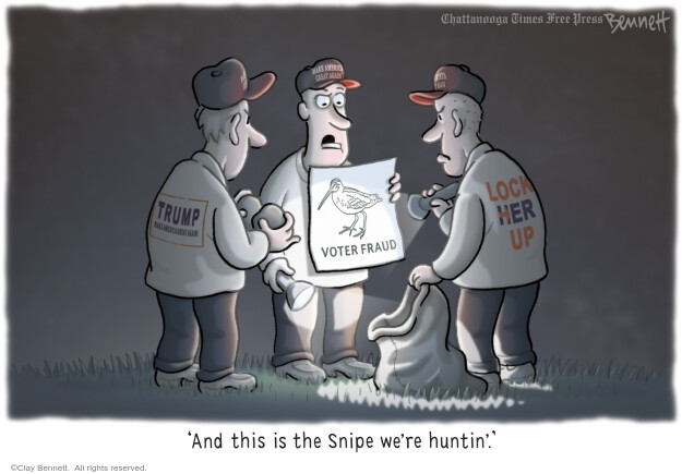 Clay Bennett  Clay Bennett's Editorial Cartoons 2016-10-21 voting rights
