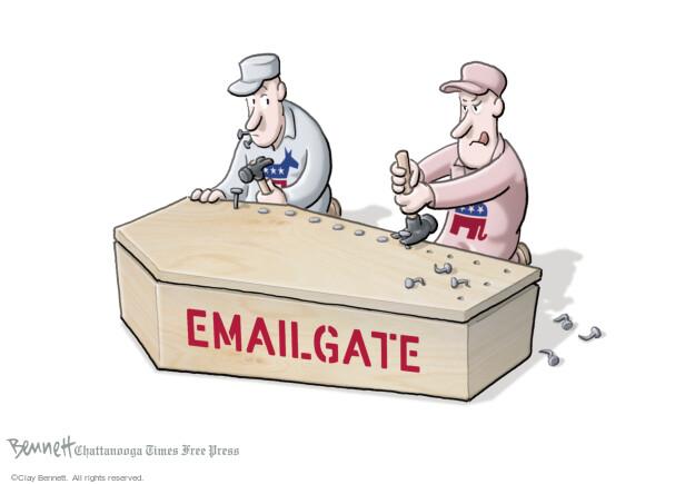 Clay Bennett  Clay Bennett's Editorial Cartoons 2016-10-31 republican democrat