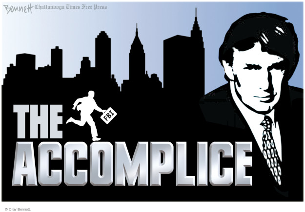 The Accomplice. FBI.