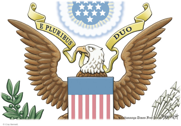Clay Bennett  Clay Bennett's Editorial Cartoons 2016-11-15 presidential election