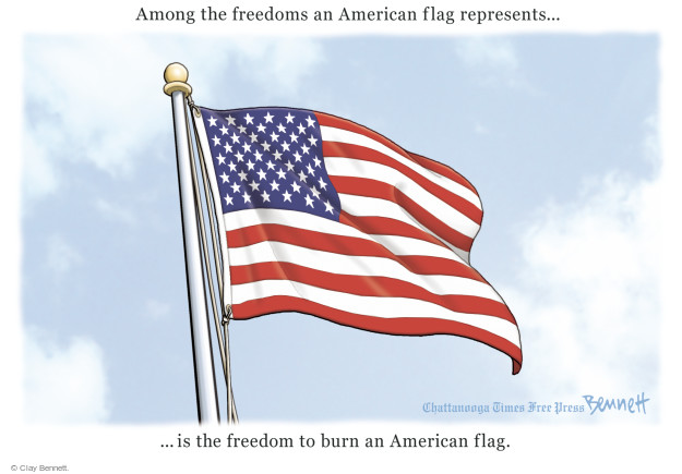 Cartoonist Clay Bennett  Clay Bennett's Editorial Cartoons 2016-11-30 democracy