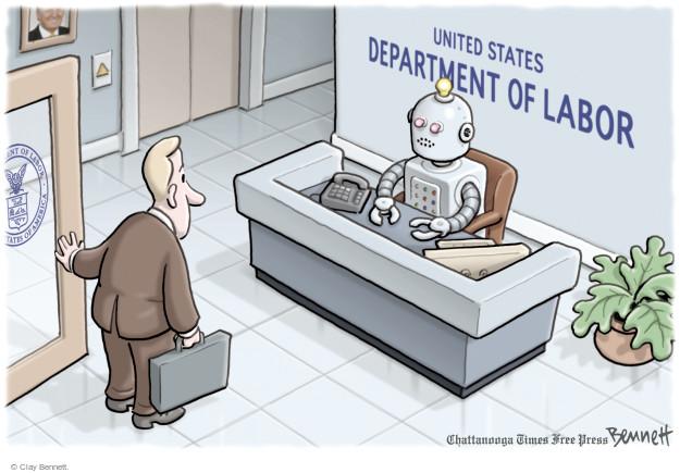 Clay Bennett  Clay Bennett's Editorial Cartoons 2016-12-12 labor