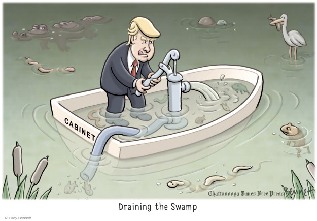 Cartoonist Clay Bennett  Clay Bennett's Editorial Cartoons 2016-12-15 nomination