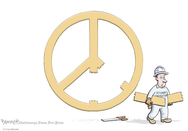 Clay Bennett  Clay Bennett's Editorial Cartoons 2016-12-29 Israel
