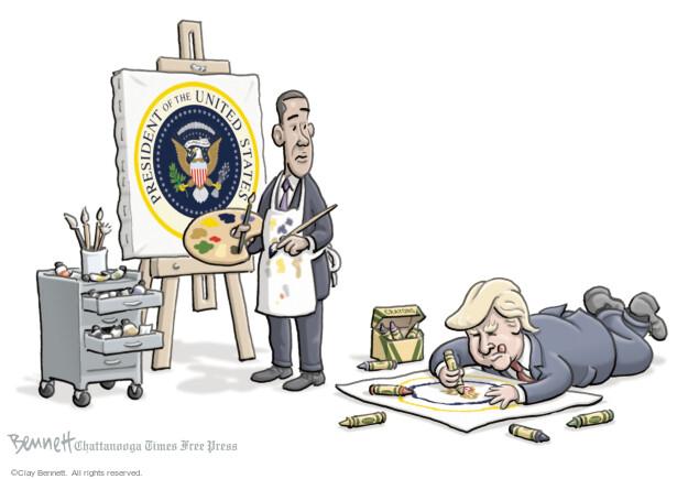 Clay Bennett  Clay Bennett's Editorial Cartoons 2017-01-13 Donald