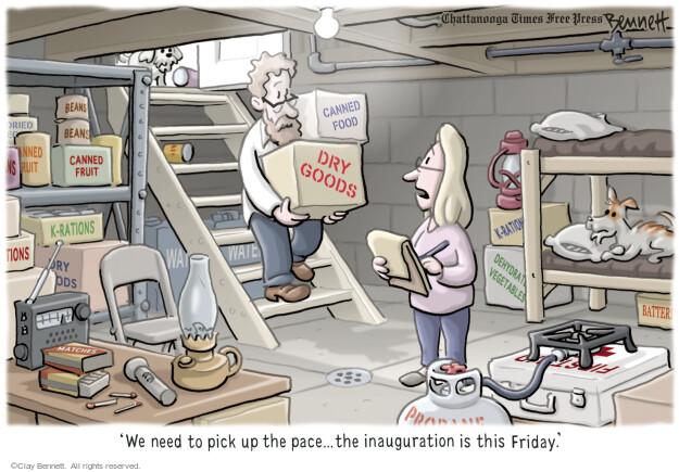 Clay Bennett  Clay Bennett's Editorial Cartoons 2017-01-17 food