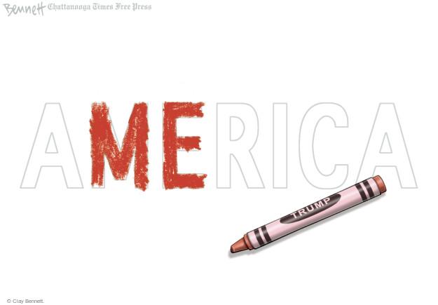 Clay Bennett  Clay Bennett's Editorial Cartoons 2017-01-27 Donald