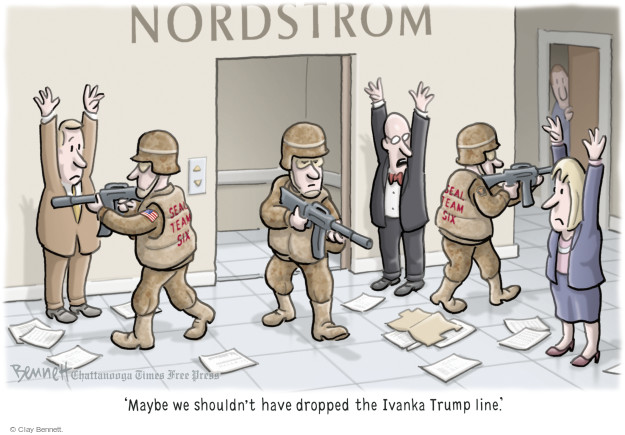 Clay Bennett  Clay Bennett's Editorial Cartoons 2017-02-09 conflict of interest